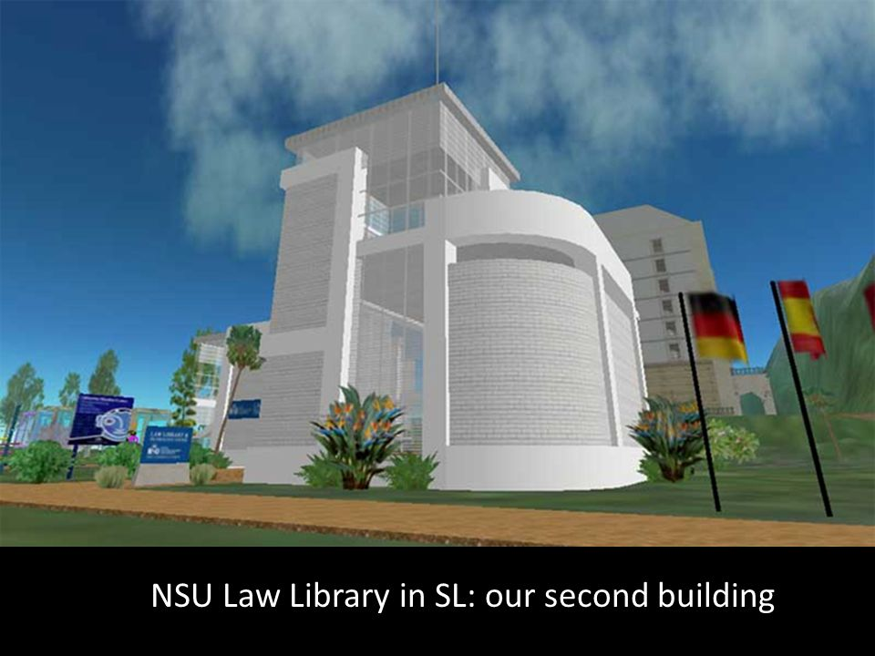 NSU Law Library in SL: our second building