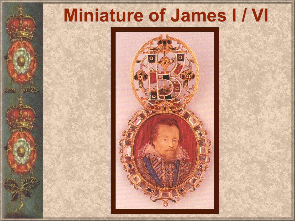 Miniature of James I / VI