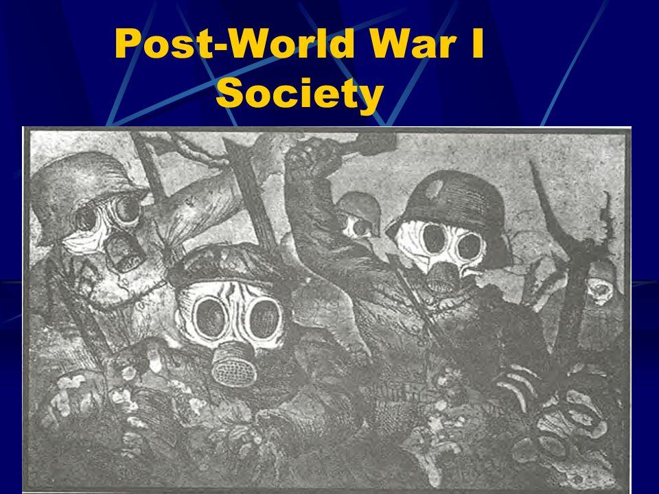Post-World War I Society