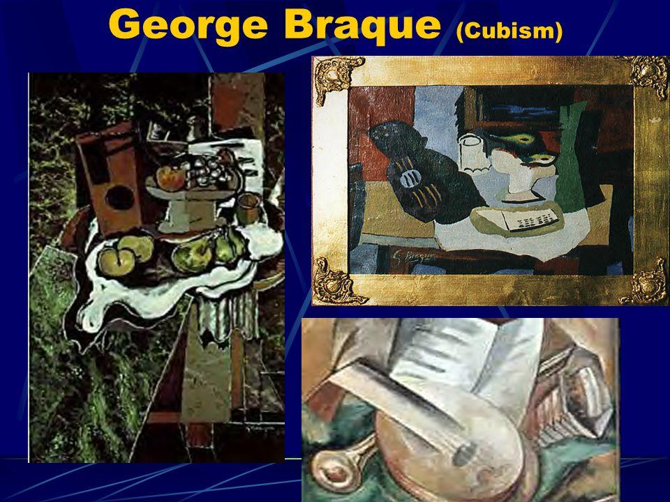George Braque (Cubism)