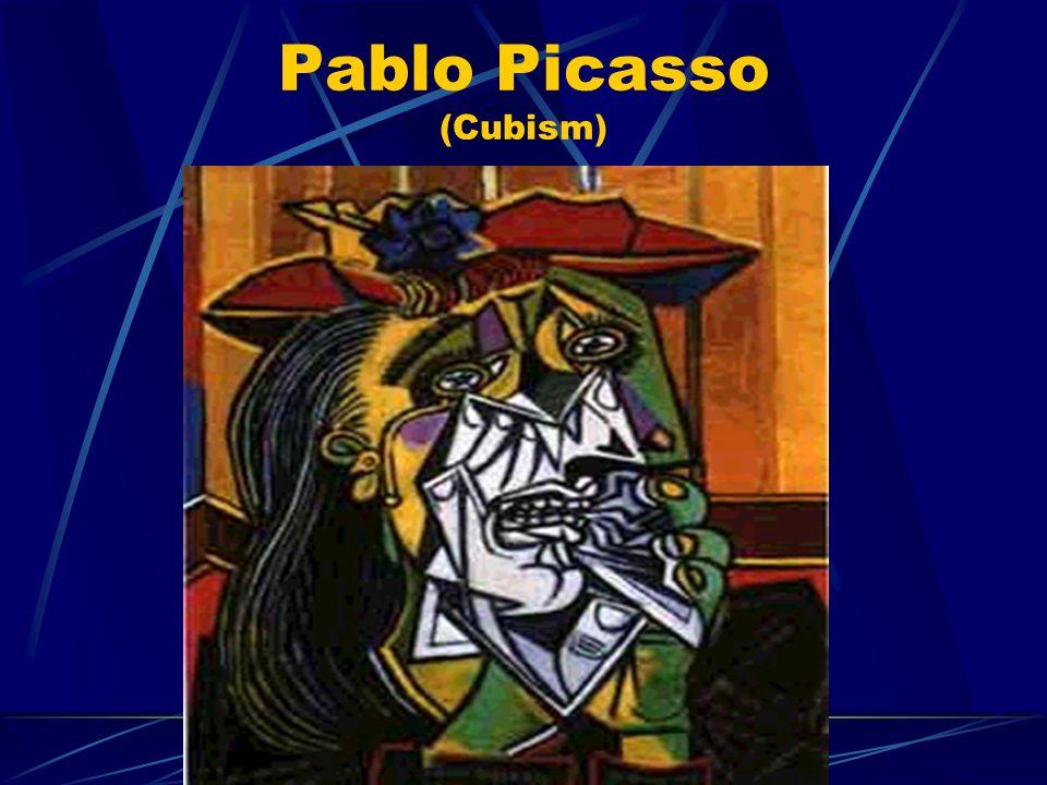 Pablo Picasso (Cubism)