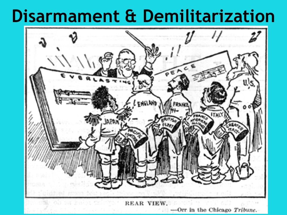 Disarmament & Demilitarization