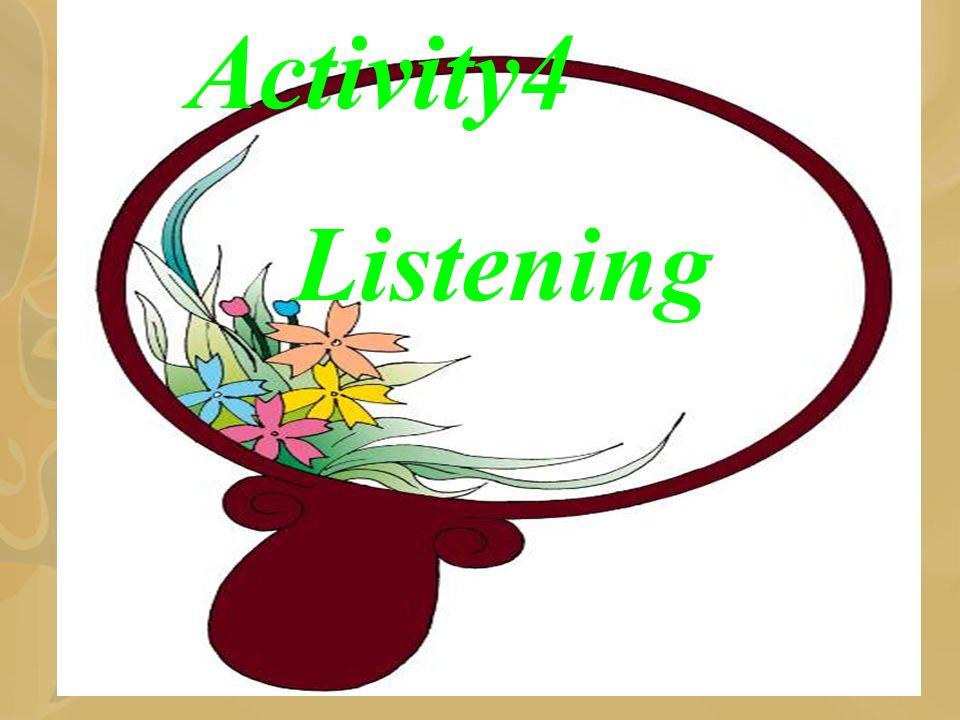 Activity4 Listening