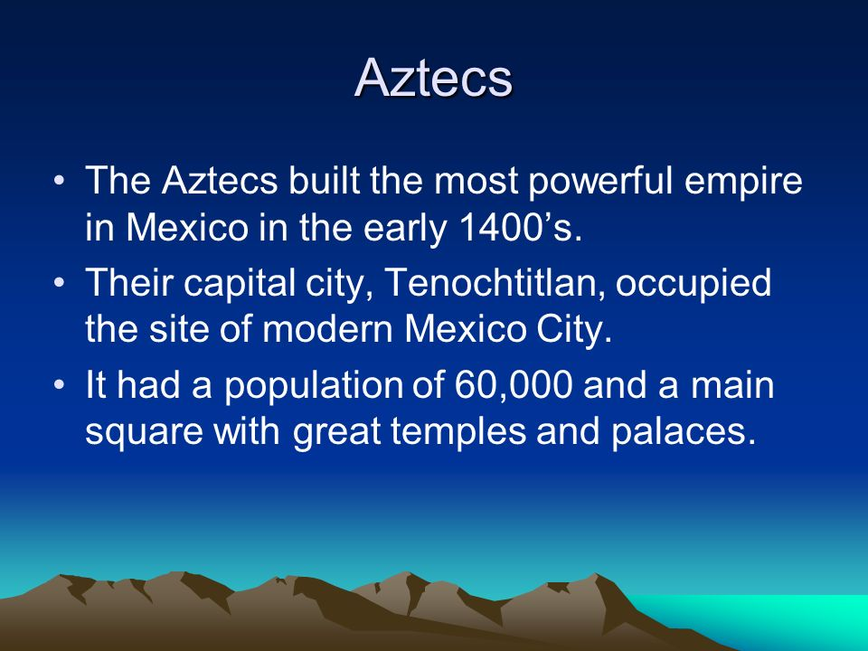 The Spanish Conquest In 1519 the Spanish armies led by Hernan Cortez marched into Tenochtitlan.