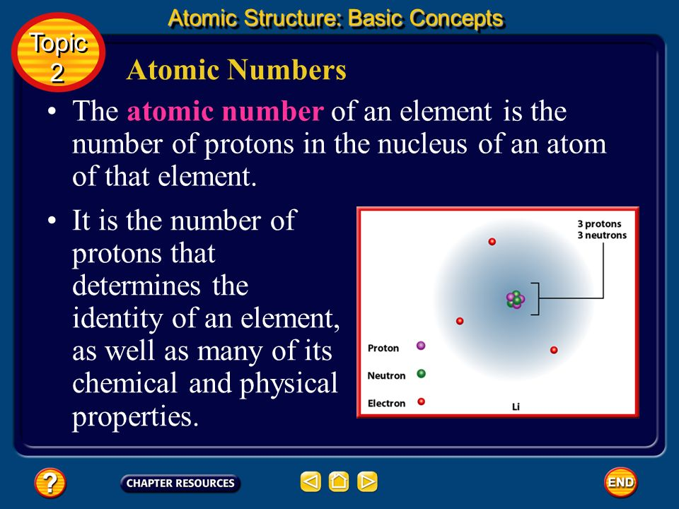 The Nuclear Model of the Atom The new model of the atom as pictured by Rutherfords group in 1911 is shown below. Atomic Structure: Basic Concepts Topi