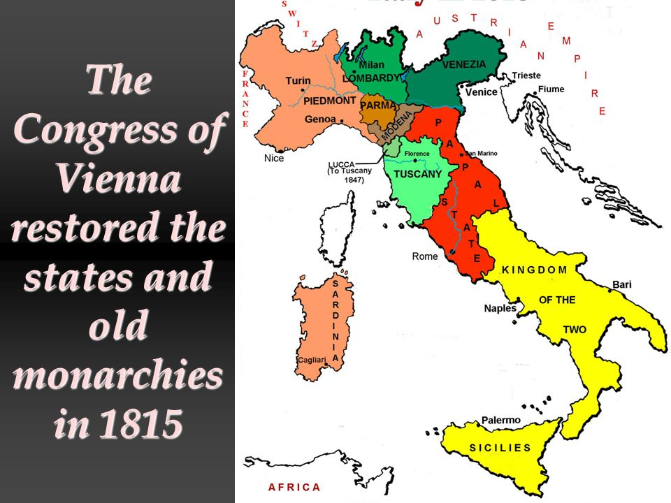 Cavour and Sardinia allied with Napoleon III and France to drive Austria out of Italy