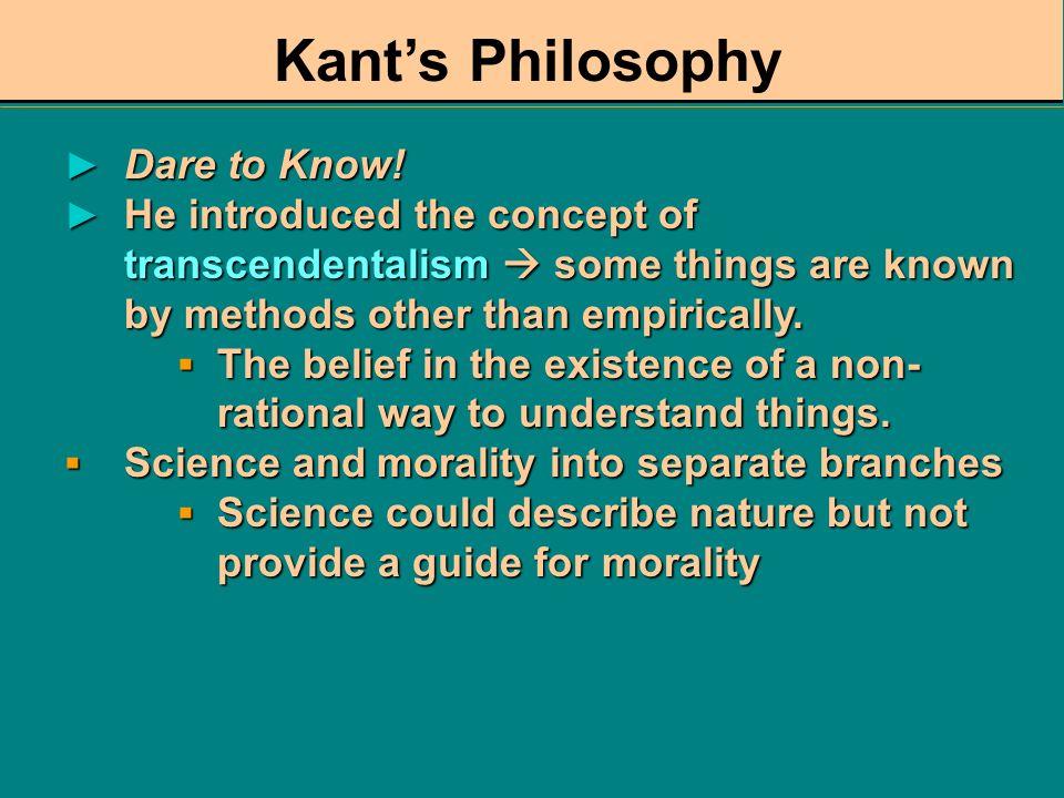 Immanuel Kant (1724-1804) Critique of Pure Reason, 1781 Critique of Pure Reason, 1781 What is Enlightenment?, 1784 What is Enlightenment?, 1784 Metaph