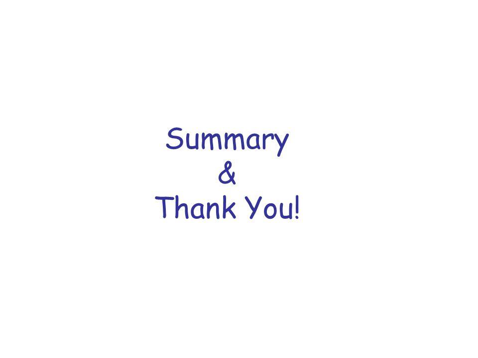Summary & Thank You!