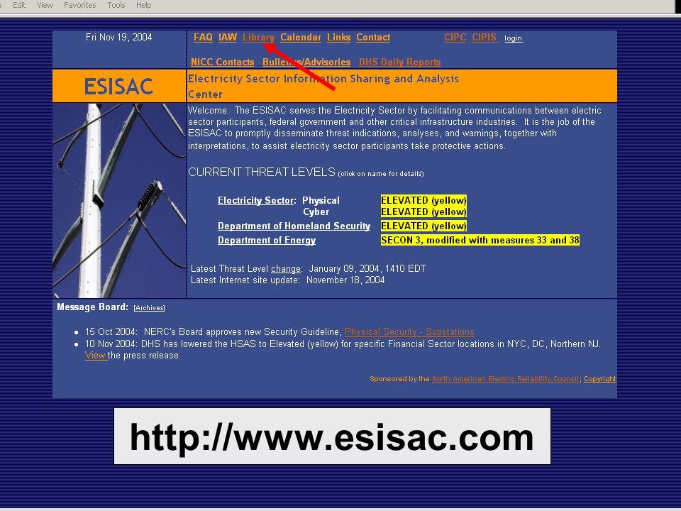 http://www.esisac.com