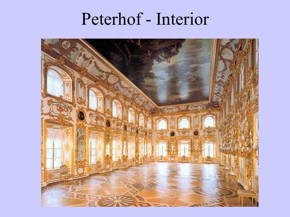 Peterhof - Interior