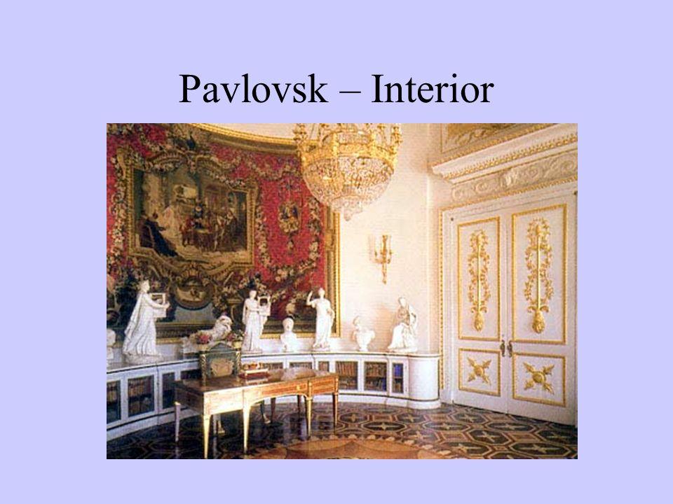 Pavlovsk – Interior