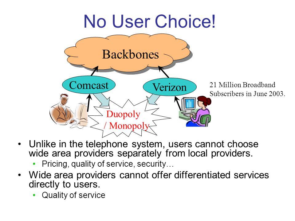 No User Choice.