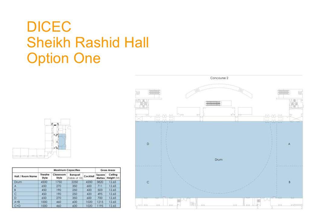 DICEC Sheikh Rashid Hall Option One
