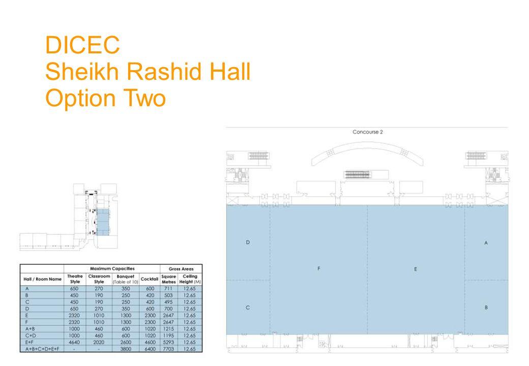 DICEC Sheikh Rashid Hall Option Two