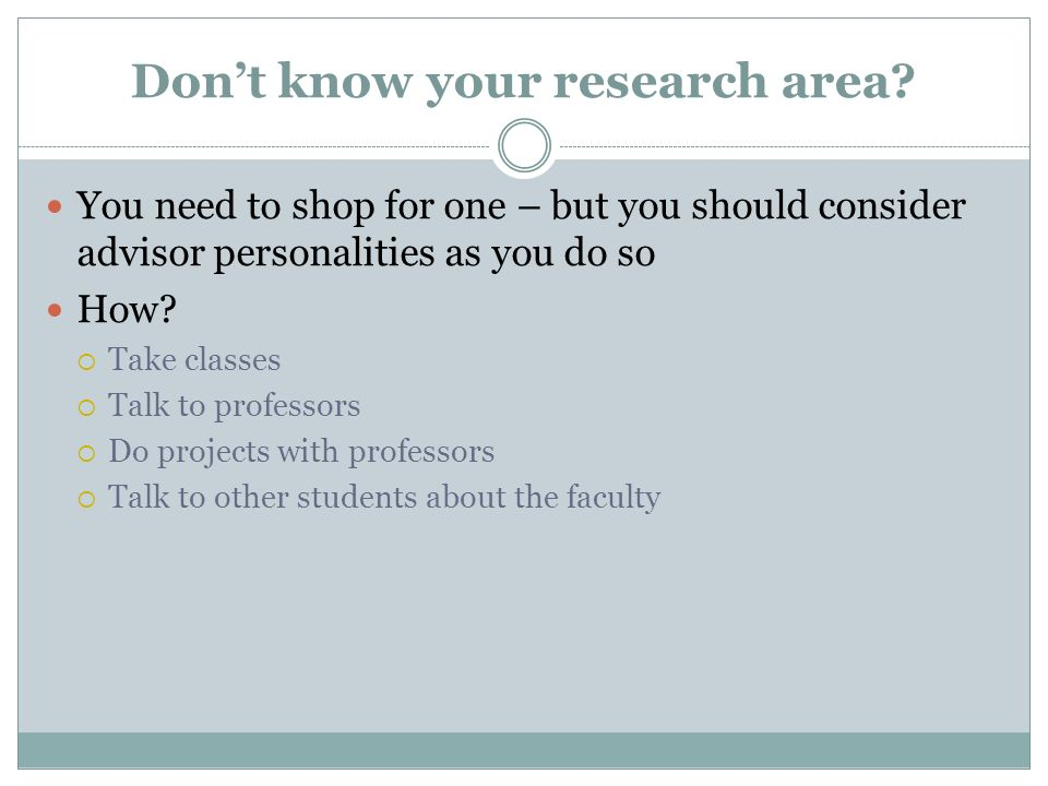 Dont know your research area.