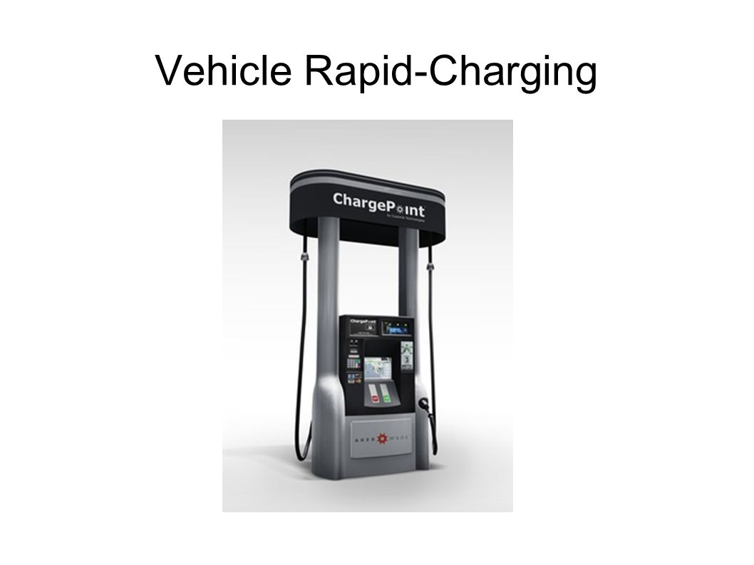 Vehicle Rapid-Charging