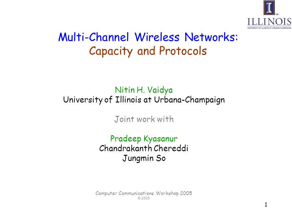 2 Multi-hop Wireless Networks Mesh networks Ad hoc networks