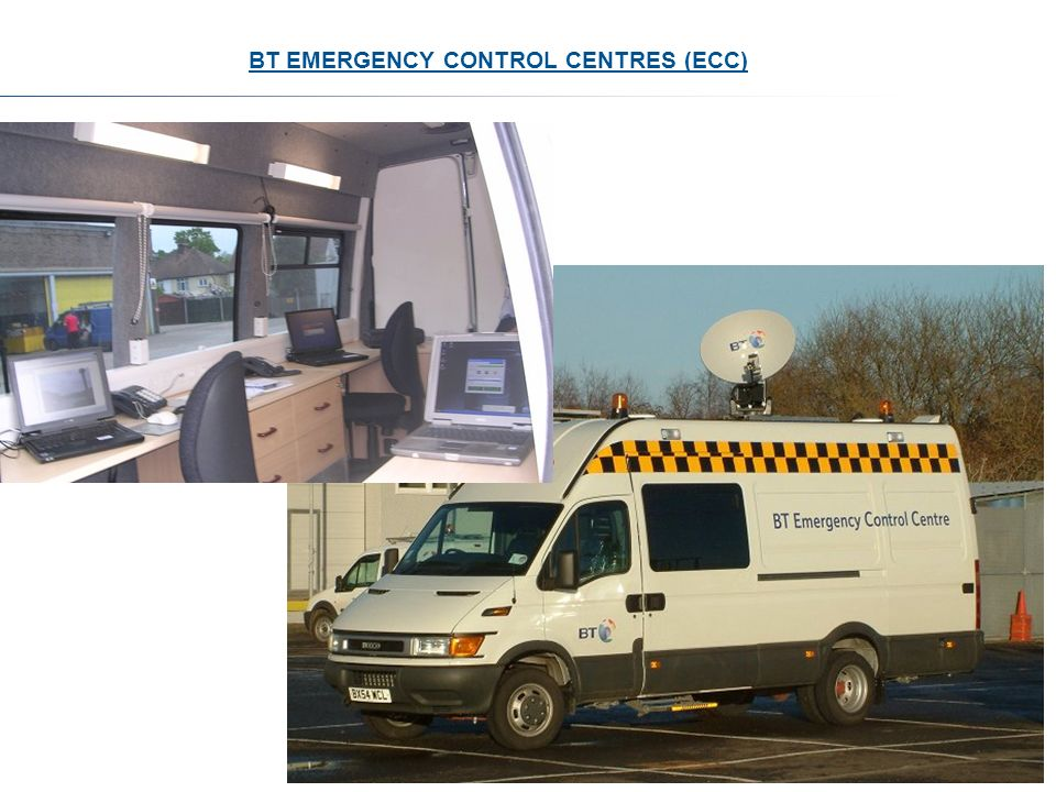 BT EMERGENCY CONTROL CENTRES (ECC)