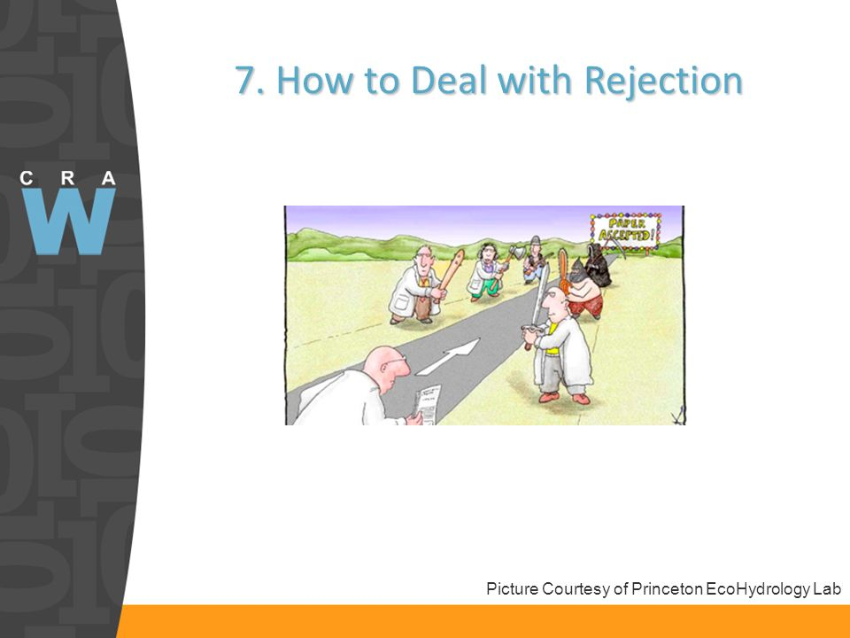 7. How to Deal with Rejection Picture Courtesy of Princeton EcoHydrology Lab