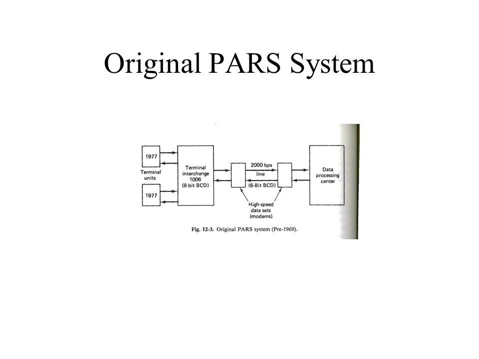 Original PARS System