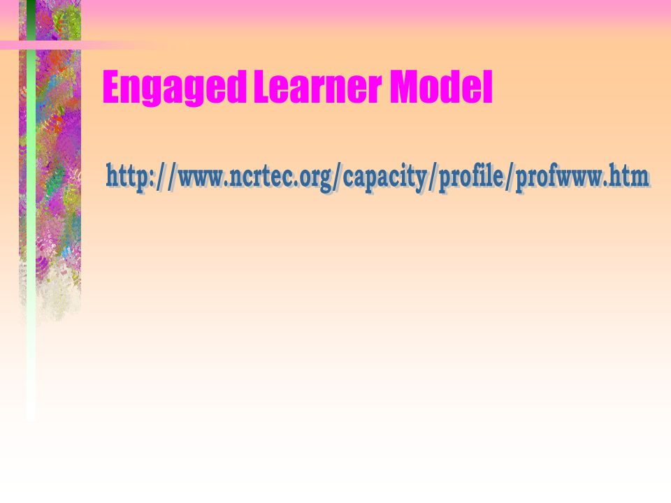 Engaged Learner Model