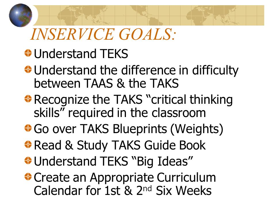 New Targets for Student Expectations – in TESTED TEKS CONNECTIONS RELATIONSHIPS CONSEQUENCES