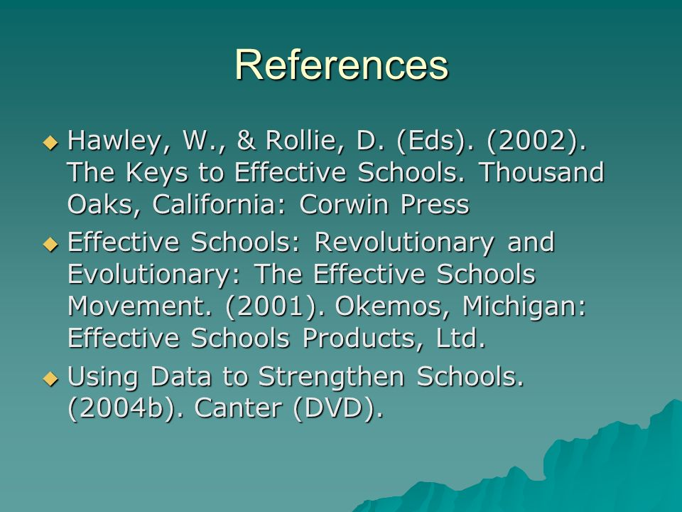 Ron Edmonds Author of Programs of School Improvement: An Overview Ron Edmonds Author of Programs of School Improvement: An Overview We can, whenever and wherever we choose, successfully teach all children whose schooling is of interest to us.