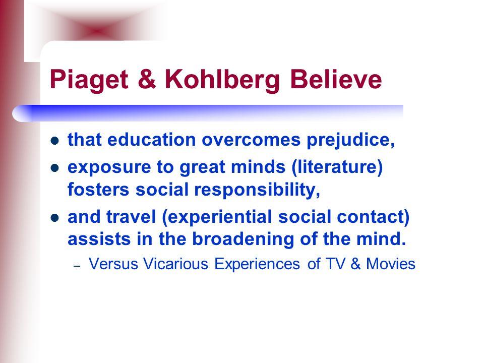 kohlberg essay