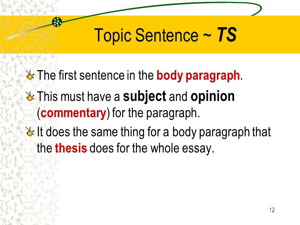 essay outline cd cm