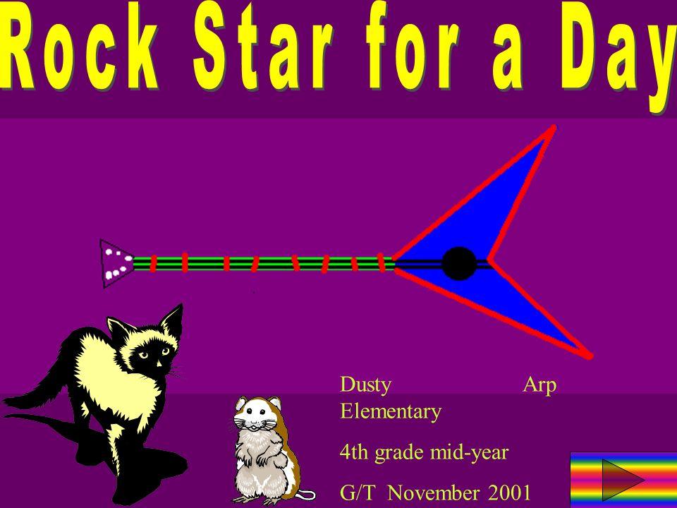 Dusty Arp Elementary 4th grade mid-year G/T November 2001