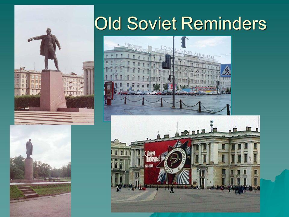 Old Soviet Reminders