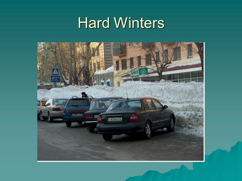 Hard Winters