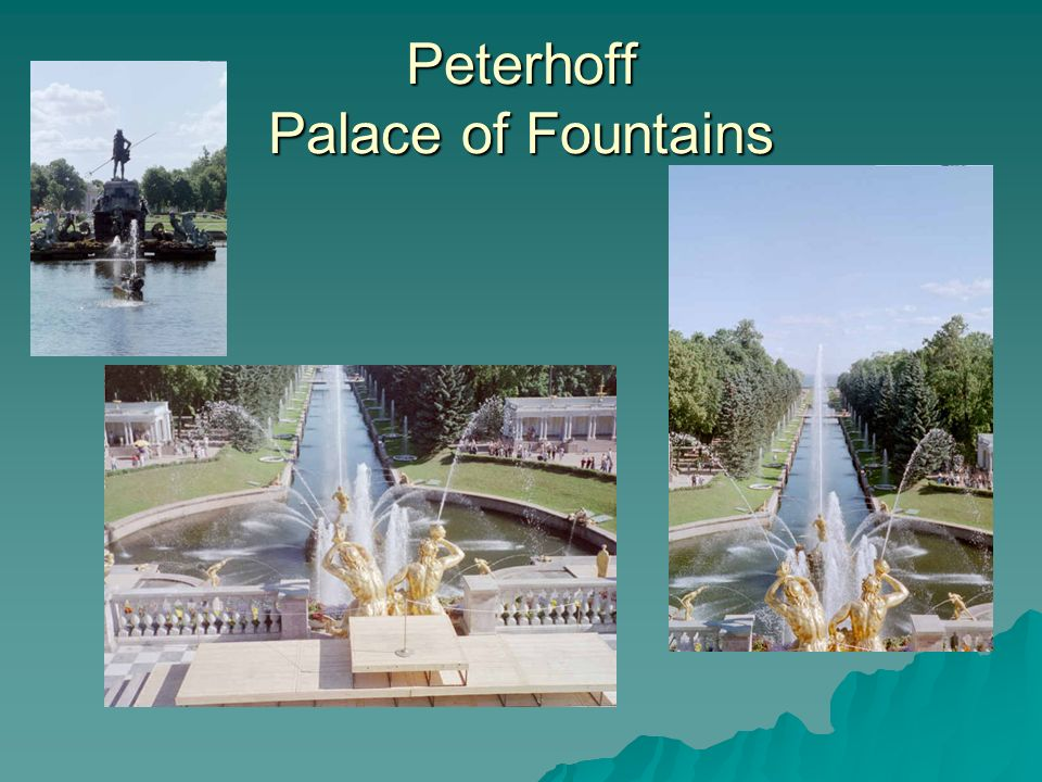 Peterhoff Palace of Fountains