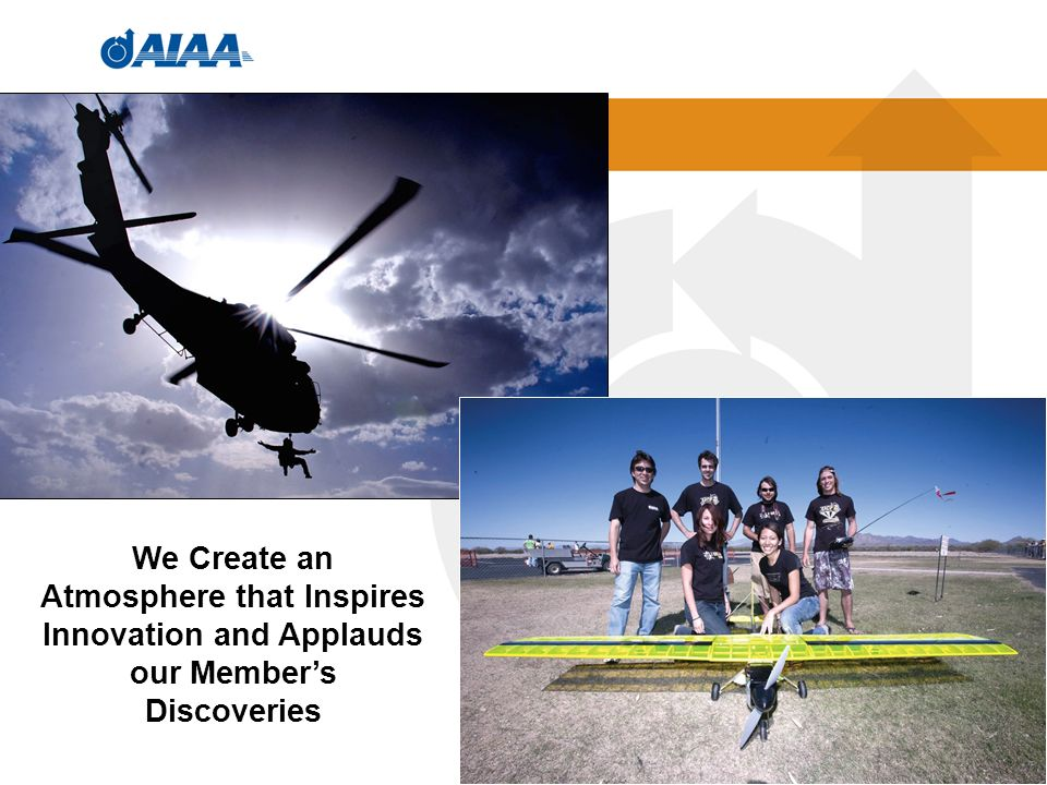 16 We Create an Atmosphere that Inspires Innovation and Applauds our Members Discoveries