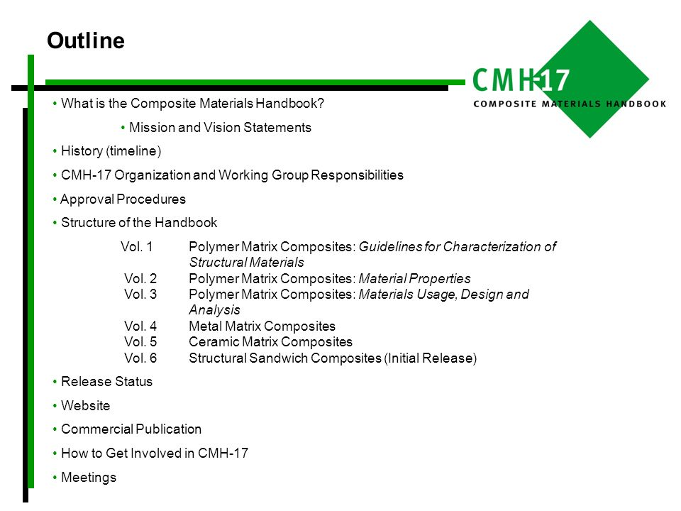 What is the Composite Materials Handbook.