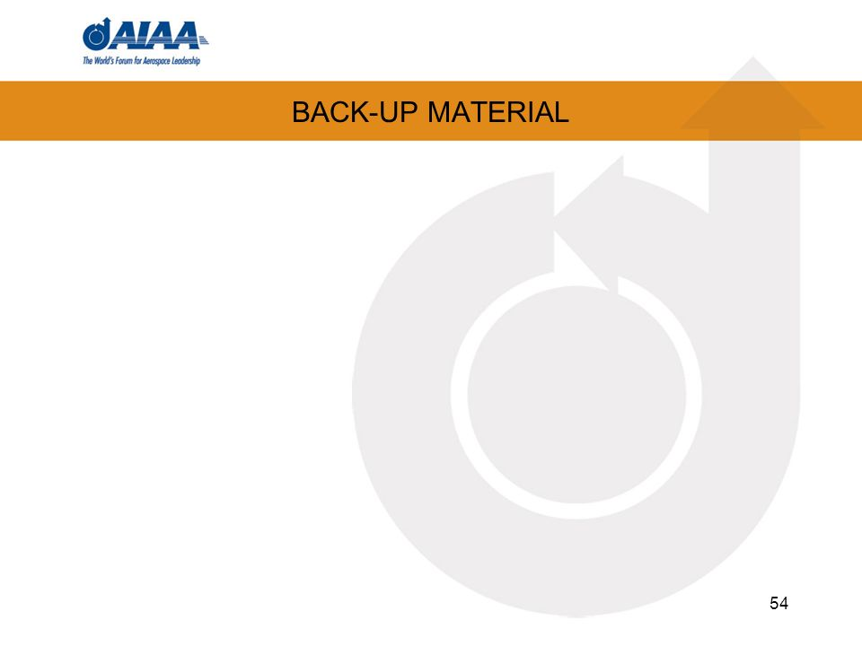 BACK-UP MATERIAL 54