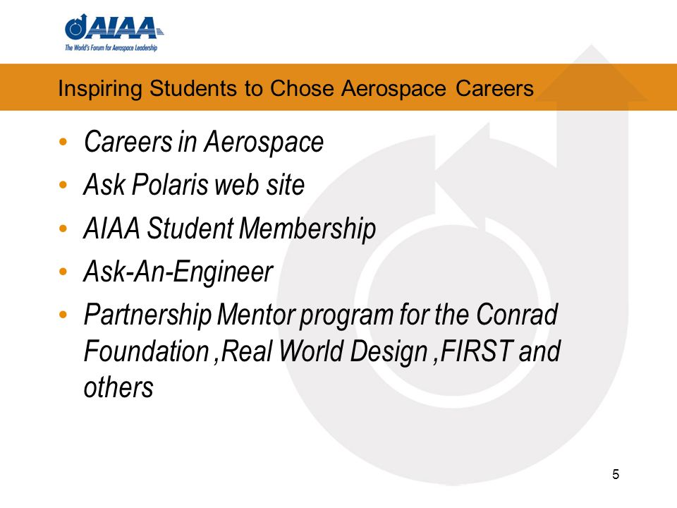 Inspiring Students to Choose Aerospace Careers Education Alley A dedicated exhibit for students interested in space.