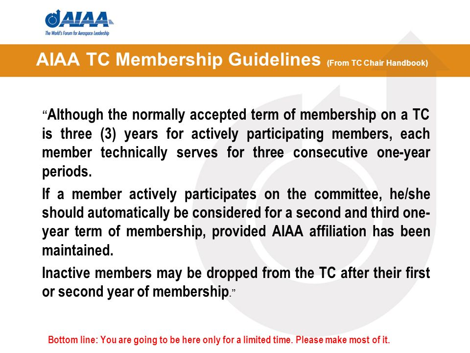 Guidelines for forming Technical Working Groups Any member can take the lead in forming a working group.