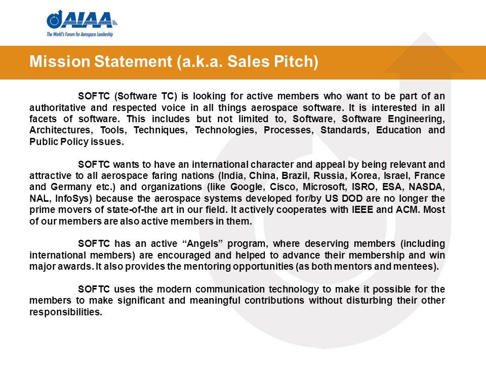 Mission Statement (a.k.a.