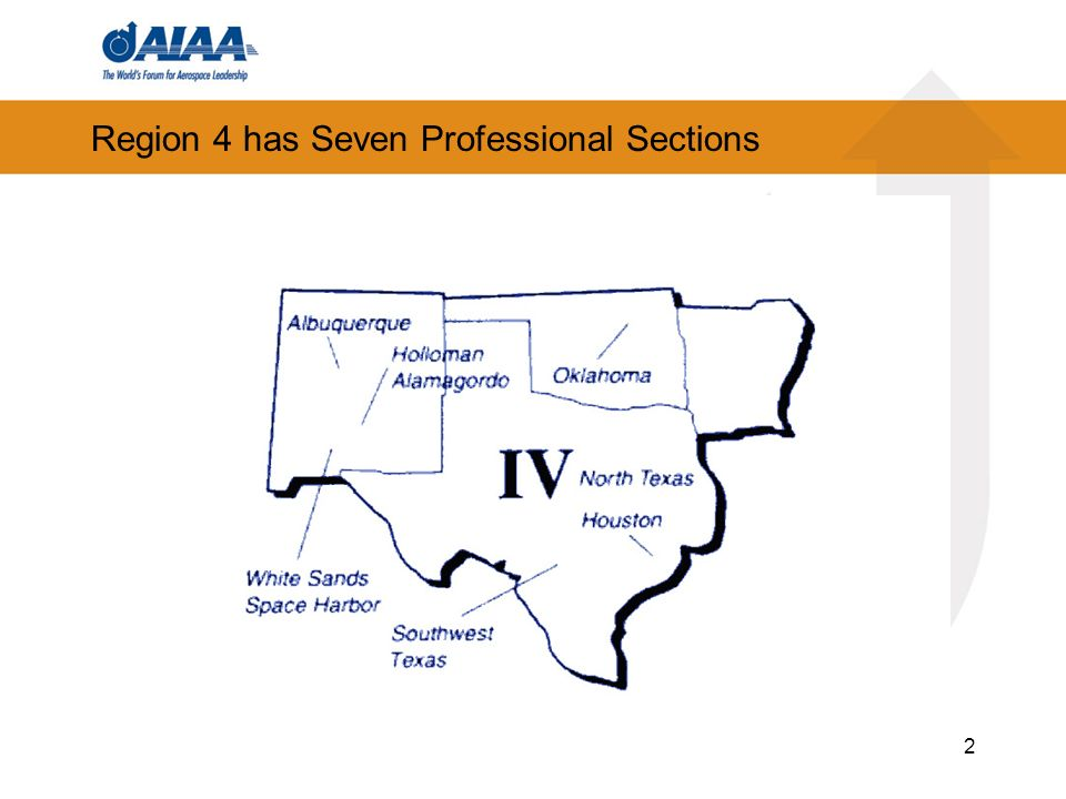 2 Region 4 has Seven Professional Sections