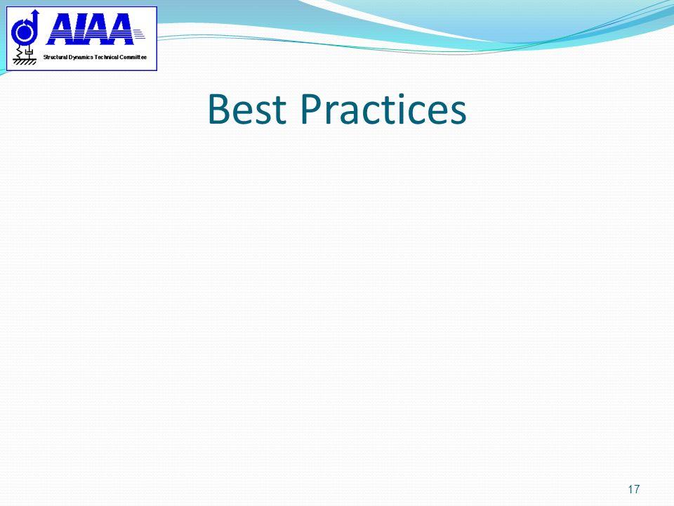 Best Practices 17