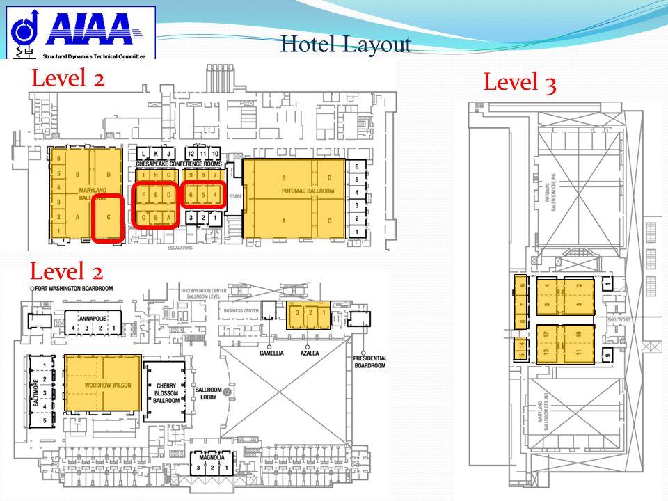 Hotel Layout Level 3 Level 2