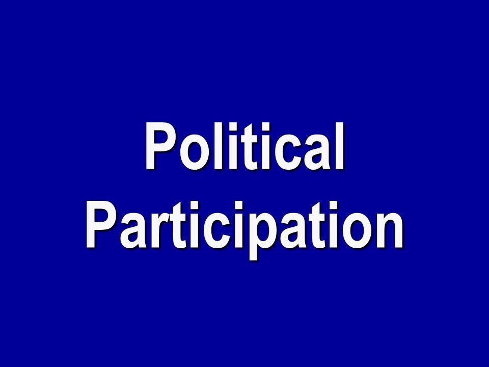 Unconventional Participation