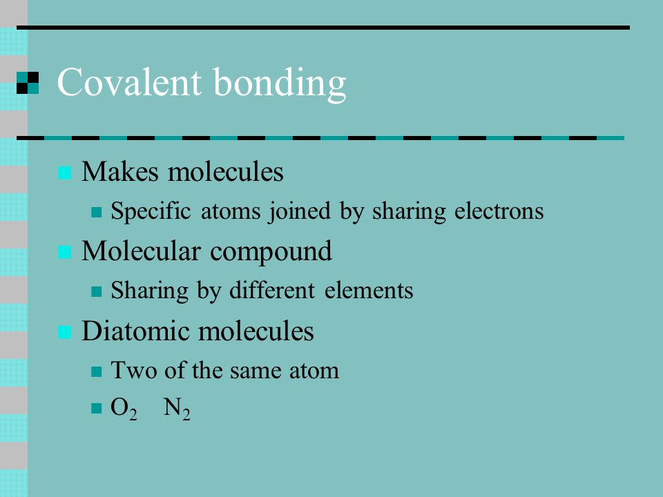 NHH H Examples Draw in the bonds All 8 electrons are accounted for Everything is full