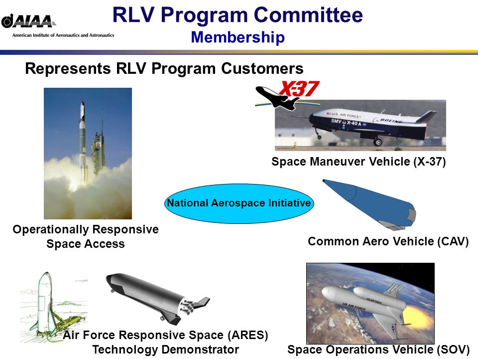 RLV Program Committee What is a Technical Committee A Technical Committee coordinates activities in a specific technical area such as liquid propulsion, applied aerodynamics or thermophysics.