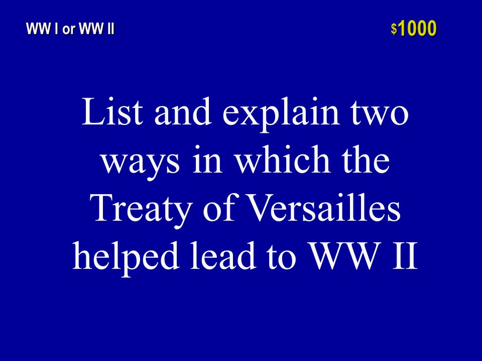 List two similarities between WW I and WW II in regards to the American home front.
