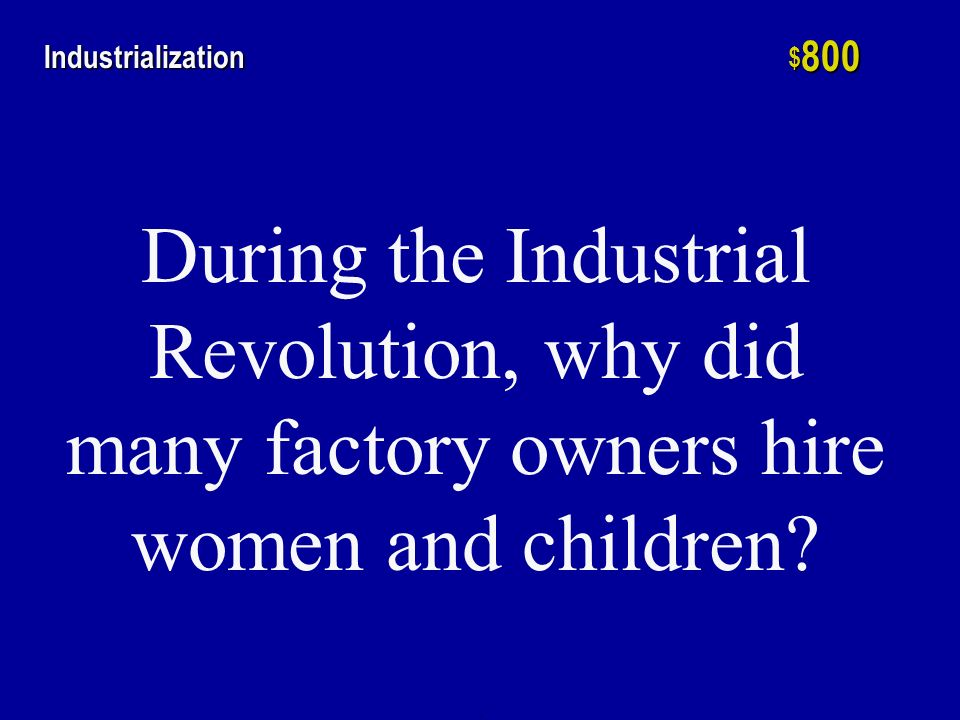 h $ 600 Industrialization Why did the federal government attempt to break up monopolies and regulate big corporations during the Progressive years