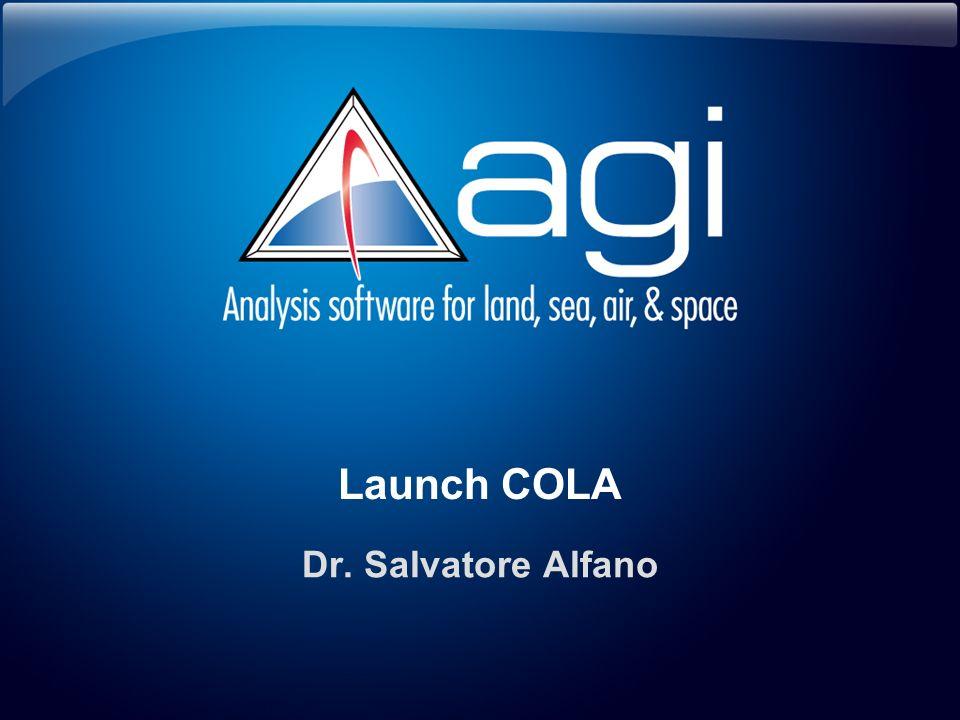Launch COLA Dr. Salvatore Alfano