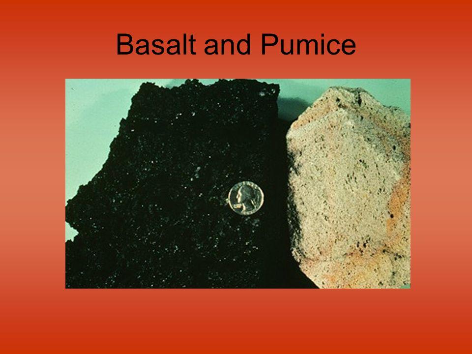 Basalt and Pumice