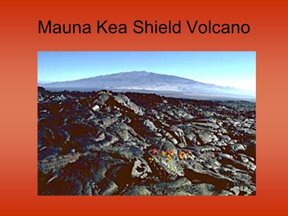 Mauna Kea Shield Volcano